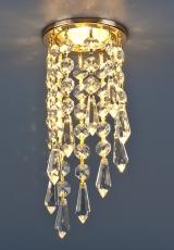 205А-С-хром-золото-прозрачный-хрусталь